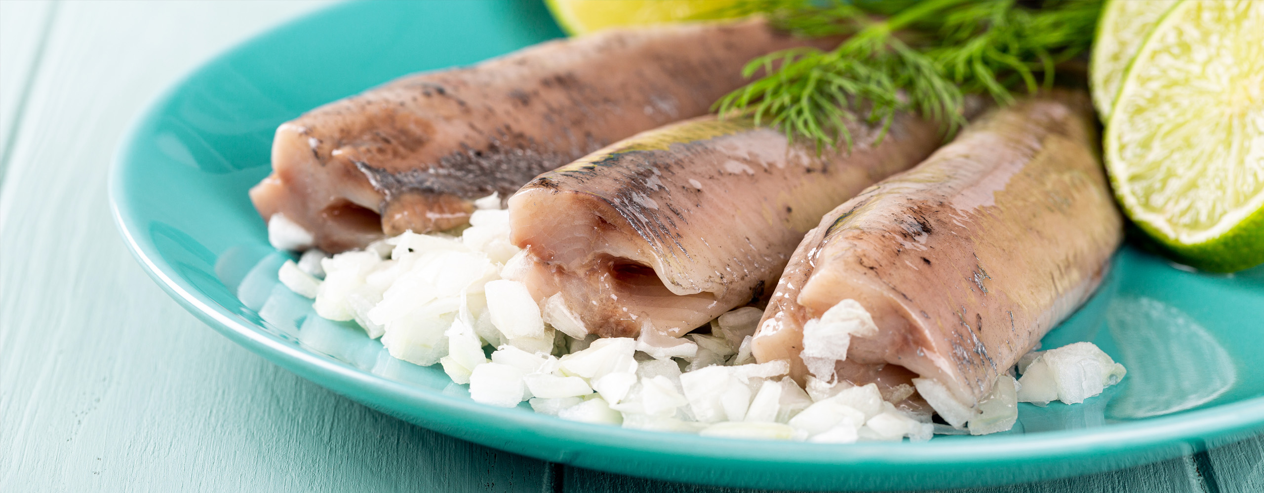 Poached Fish with Lime and Onions